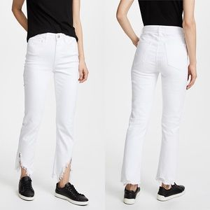 NEW • 3x1 • Higher Ground Slash Slim Jeans White